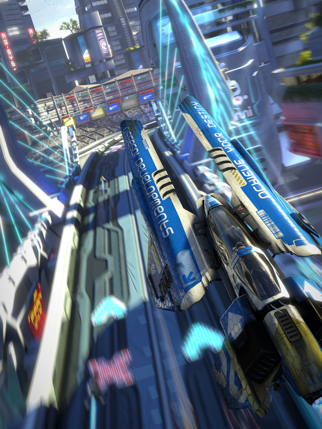 Wipeout Omega Collection Gets Stunning Images Via Dead