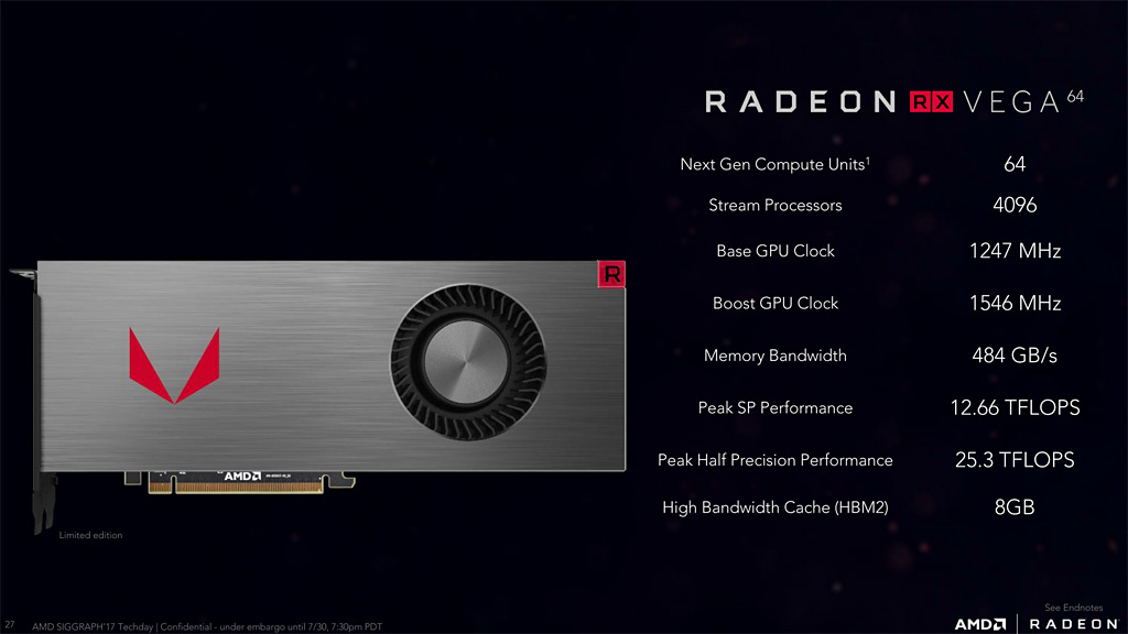 AMD Radeon RX Vega 64 Review Leaks Out - Air and Liquid Model Tested