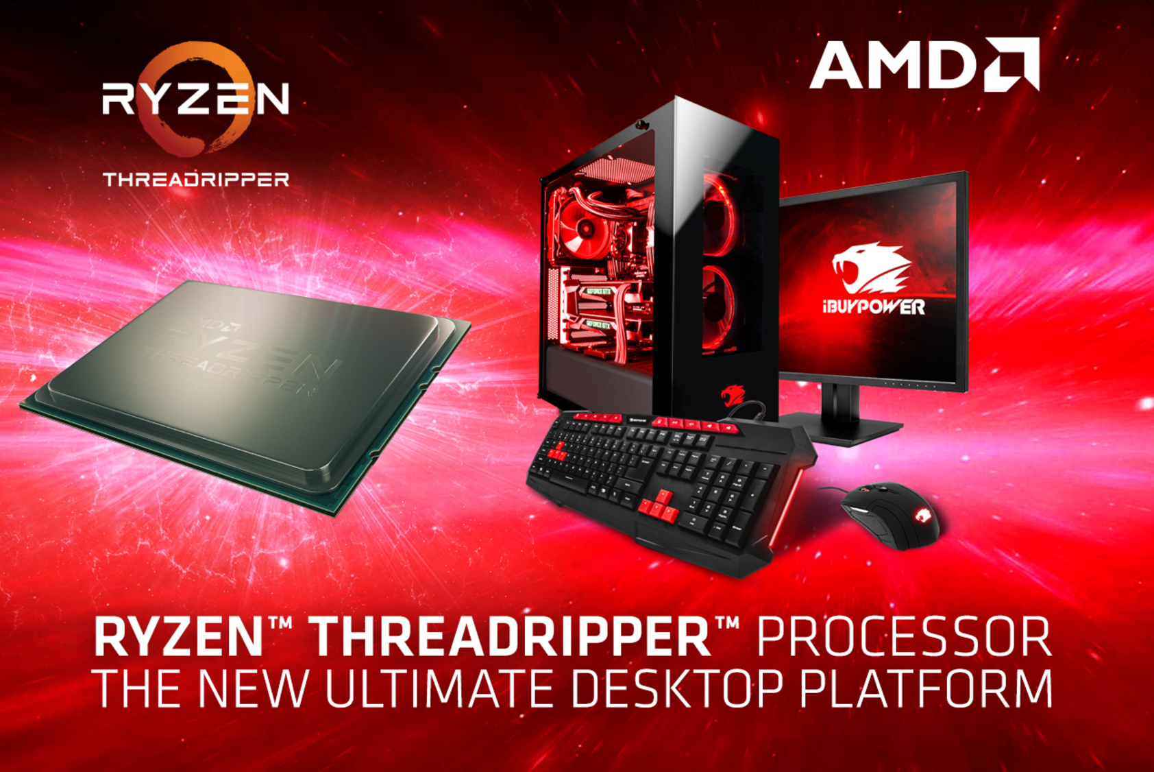 AMD Ryzen Threadripper X399 HEDT Systems Can Now Be Purchased