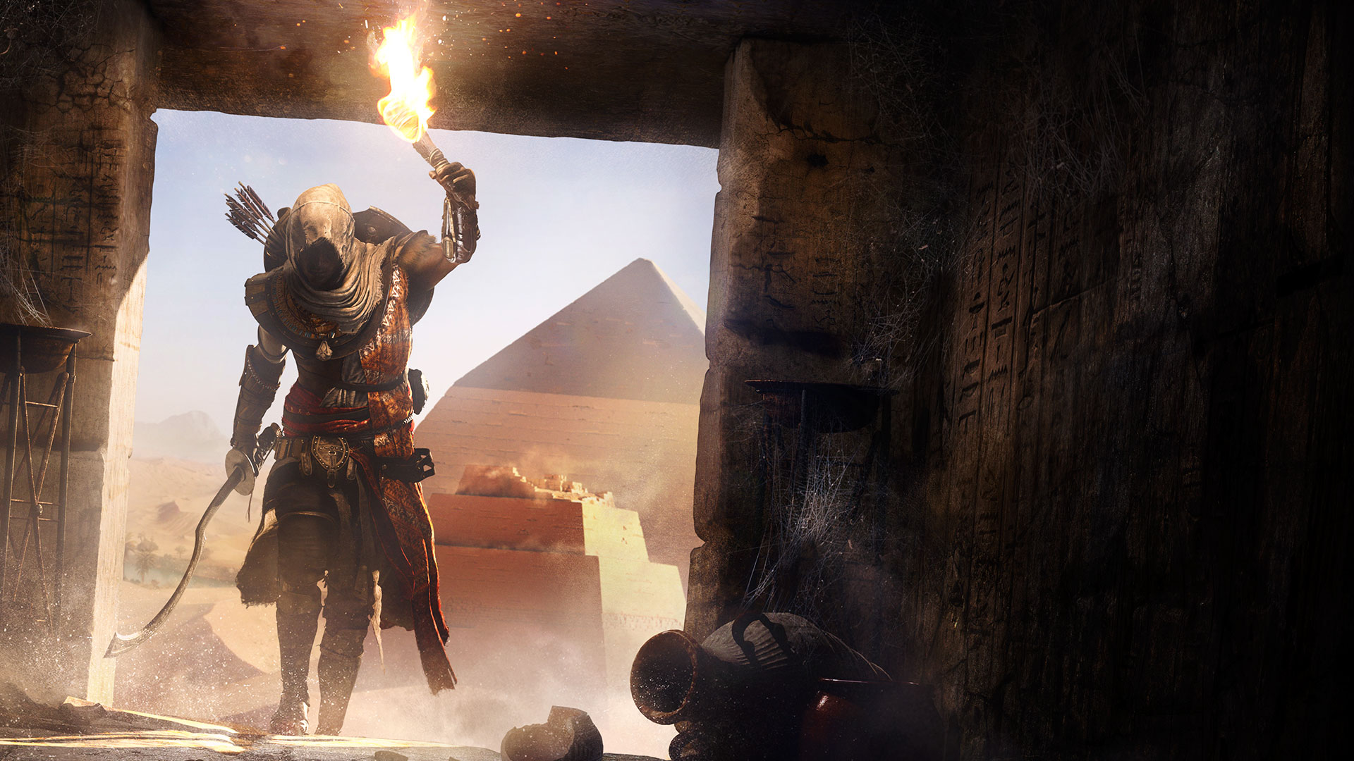 Assassin S Creed Origins Gets Gorgeous 4k Xbox One X Gameplay Video