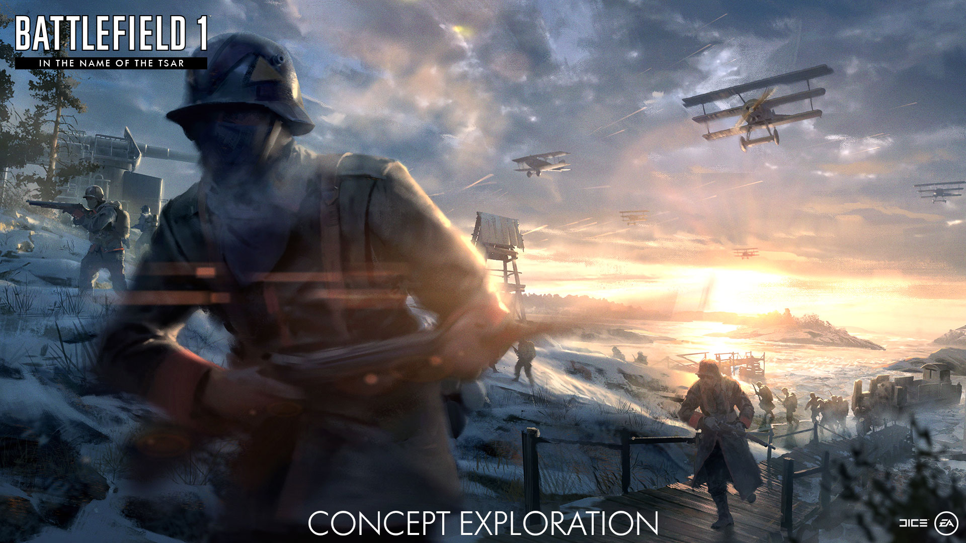 Battlefield 1 In The Name Of The Tsar Dlc Lupkow Pass Map Gets New