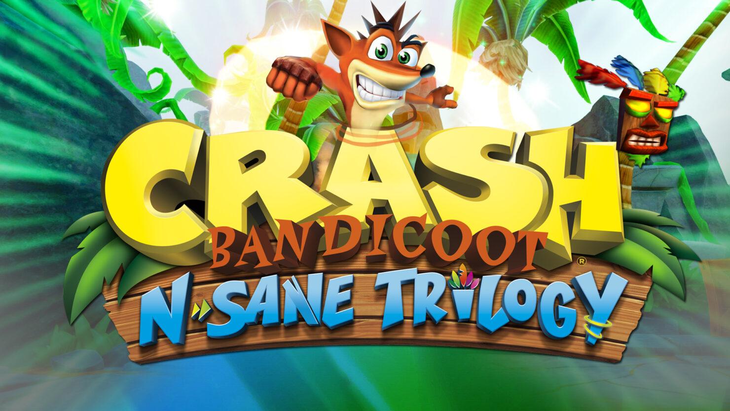 PS Plus February 2020 Crash Bandicoot N. Sane Trilogy