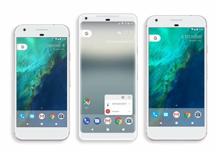 Latest Google Pixel 2 XL Render Claims 6