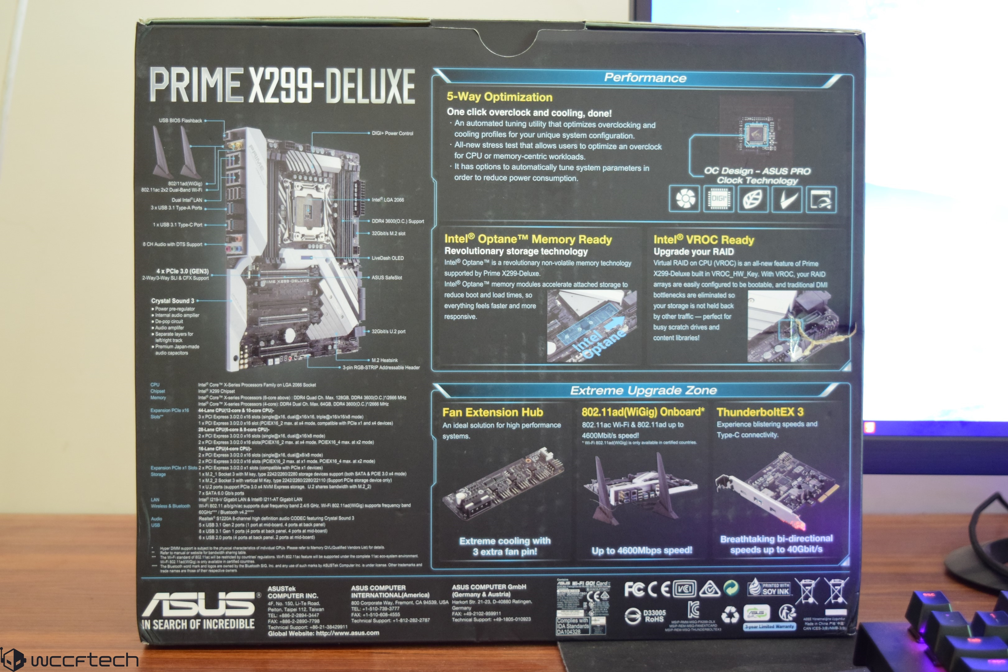"Intel ""Core-X"" Core i7-7900X, Core i7-7820X, Core i7-7800X"