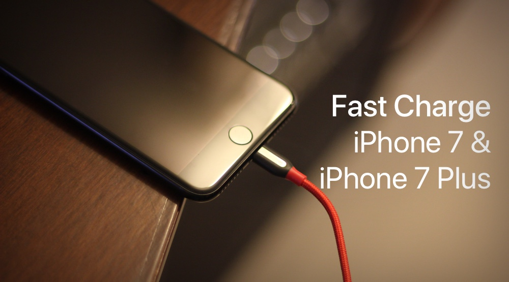 new concept 8b0b8 81163 Here's How You Can Fast Charge iPhone 7 & iPhone 7 Plus
