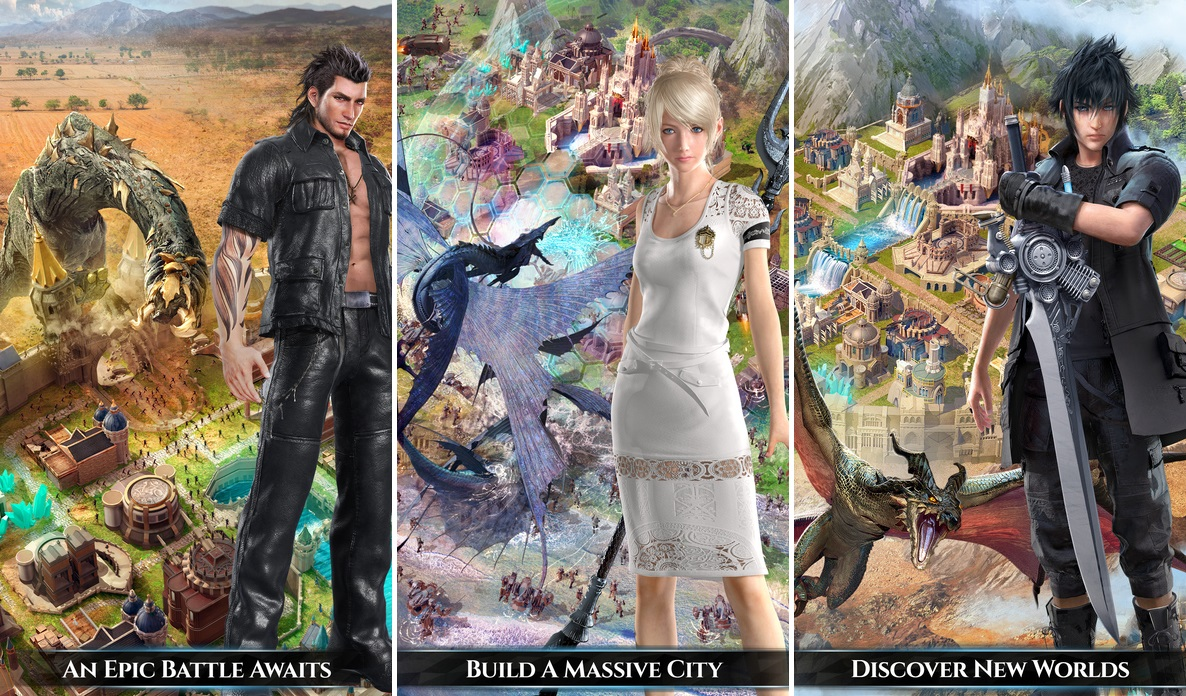 Final Fantasy XV: A New Empire Is Now Available For iOS And