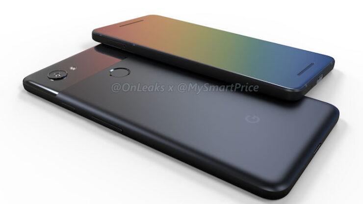 Google Pixel 2 3D Renders