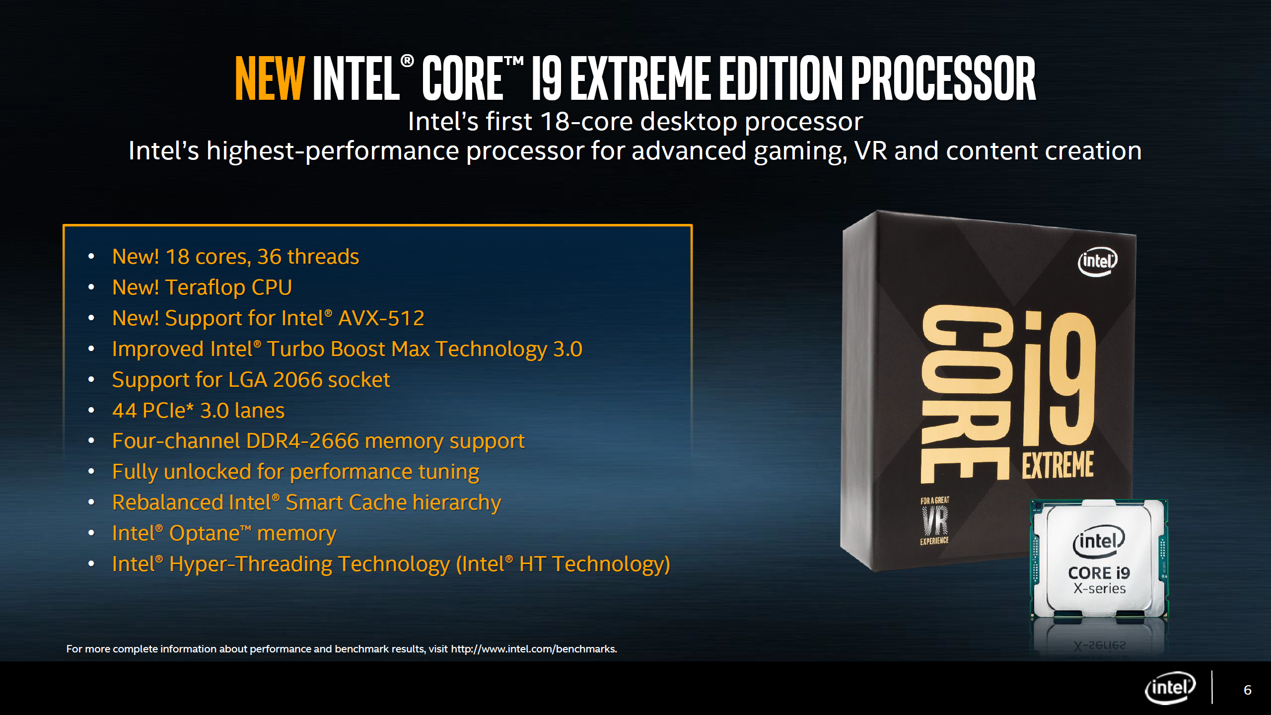 intel core i9 7980xe flagship 18 core cpu arriving on 18th. Black Bedroom Furniture Sets. Home Design Ideas