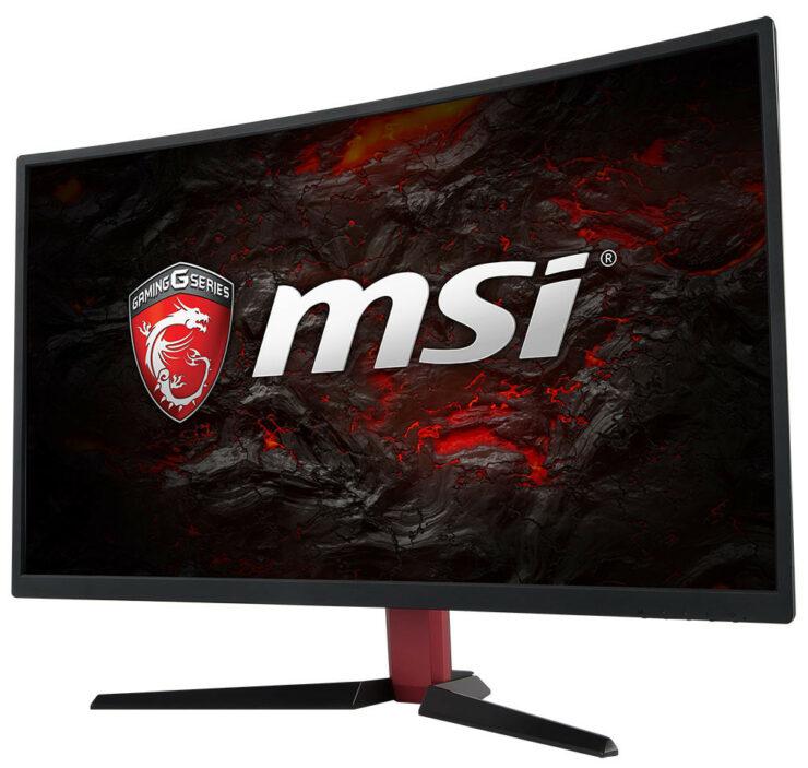 MSI OPTIX gaming monitors unveiled