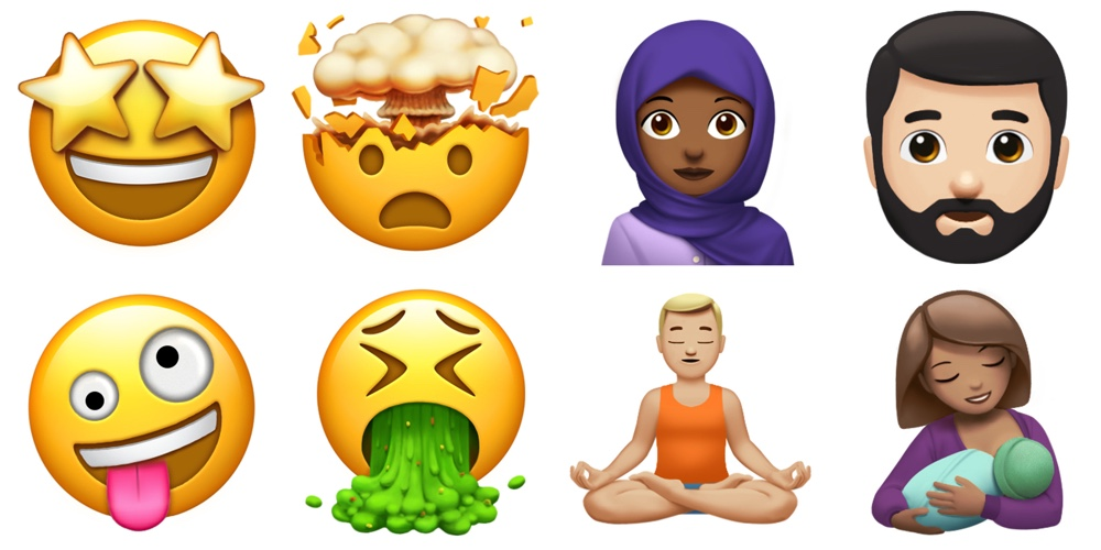 iphone new emoji apple previews new emoji coming to ios 11 macos high 4724