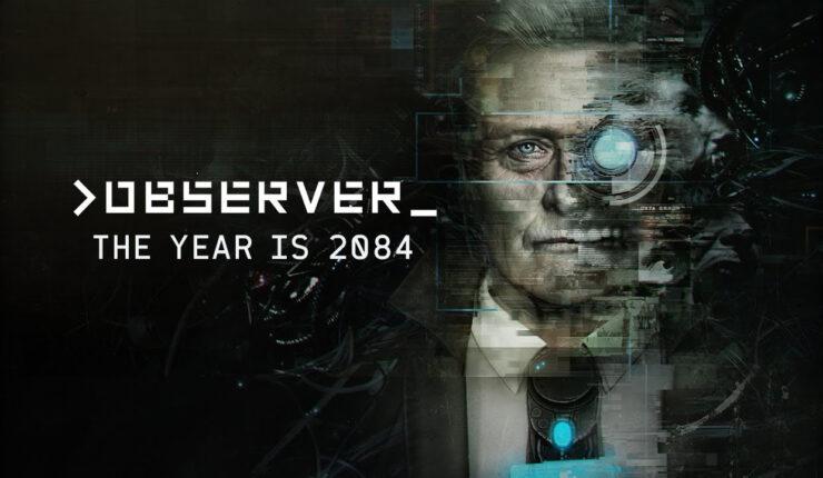 Observer Cyberpunk Rutger Hauer