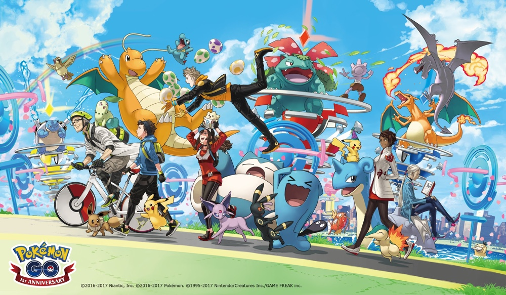 Pokemon GO Turns 1 Today - Exciting Updates Promised for Later
