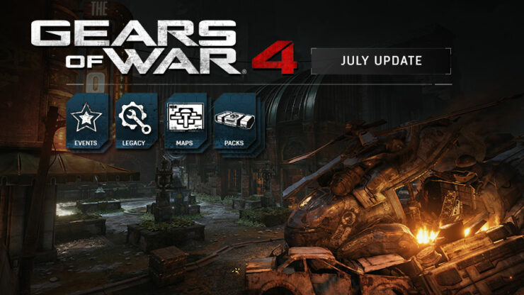 Gears 4 July Update Xbox Wire Hero Image
