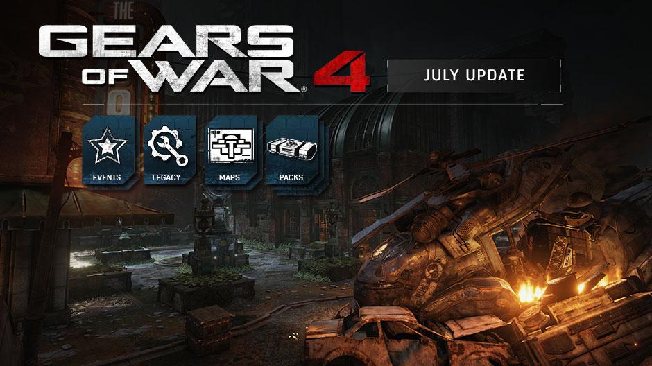 Gears 4 July Update Xbox Wire Hero Image