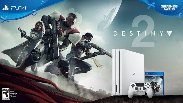 Sony Reveals Limited Edition PlayStation 4 Pro Destiny 2 Bundle