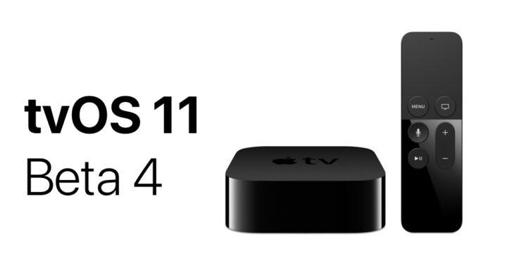 tvOS 11 Beta 4