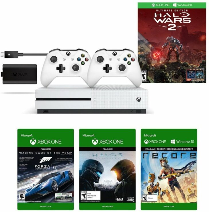 xbox one s halo wars 2 amazon prime deal