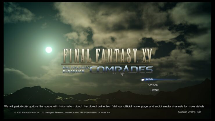 Final Fantasy XV Comrades Closed Beta New Footage And Screens Show