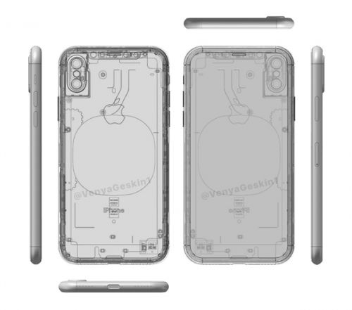 sneakers for cheap 79925 c1eb4 Apple iPhone 8's Real Life, X-Ray Images Straight Off Of Foxconn ...