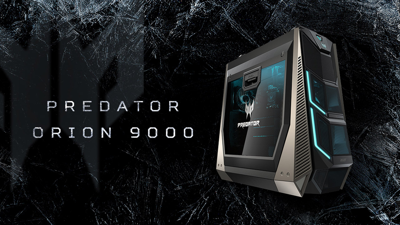 Acer Predator Orion 9000 Is a Gaming Desktop That Features an 18 ...