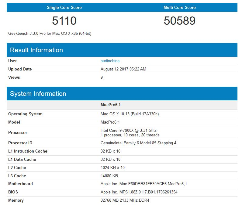 apple-mac-pro-intel-i9-7900x-geekbench-score