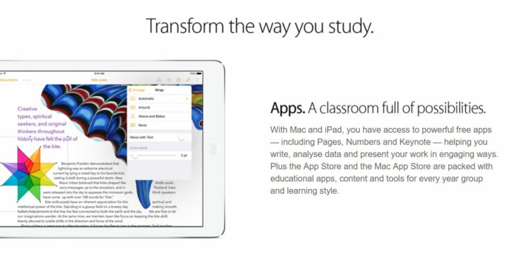 Apple's Back To School Promotion Expands To Europe, Offering Free