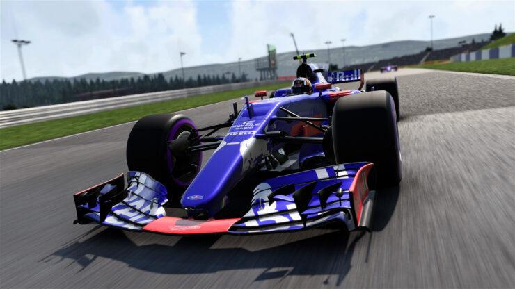F1 2017 PS4 Pro