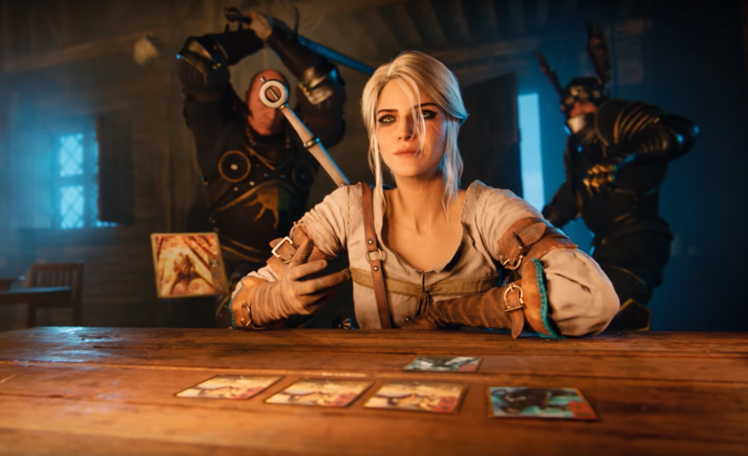 Gwent the witcher card game new update opens new - Ciri gwent card witcher 3 ...