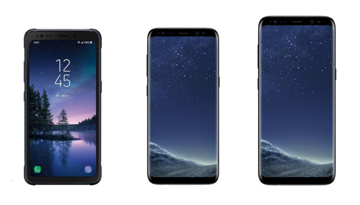 Galaxy S8 Active vs Galaxy S8 vs Galaxy S8+ Specs Comparison