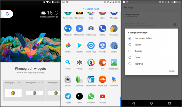 Pixel Launcher Updated With Android 8 0 Oreo Features For