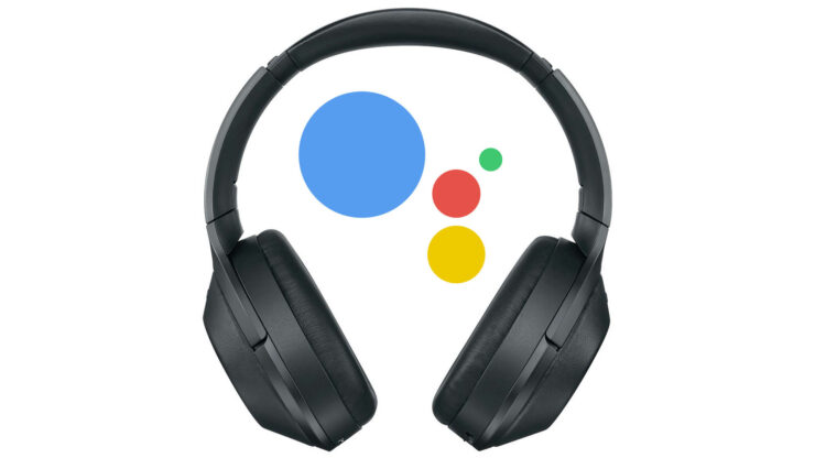 Google Assistant running headphones