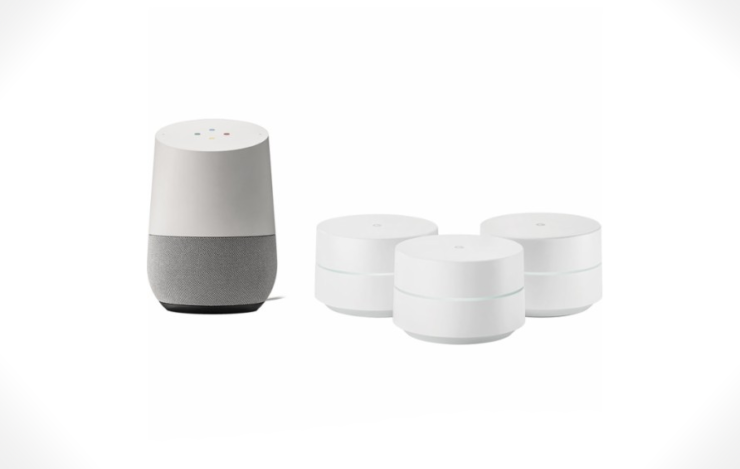 Google Home + Google Wi-Fi Bundle