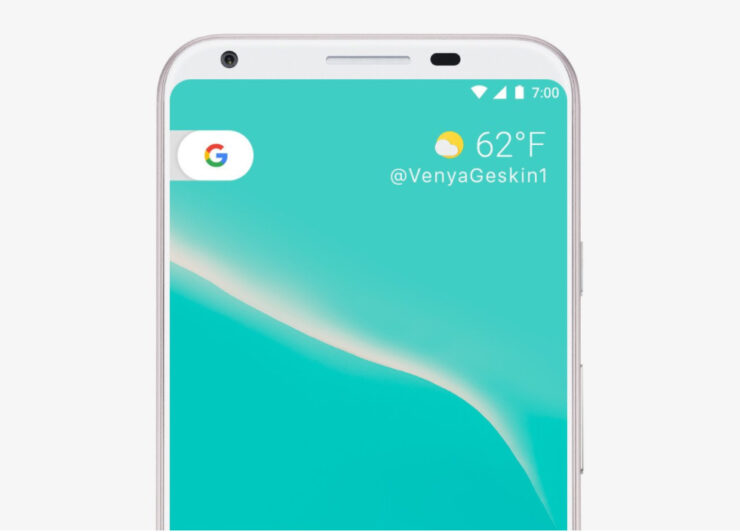Google Pixel 2 FCC filing