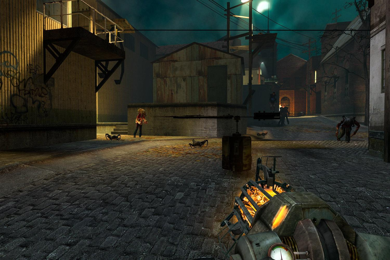 Half-Life 2: Aftermath Mod Includes Beta Content Meant For
