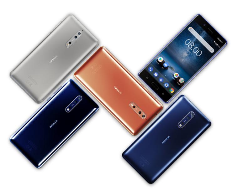 Nokia 8 pricing details