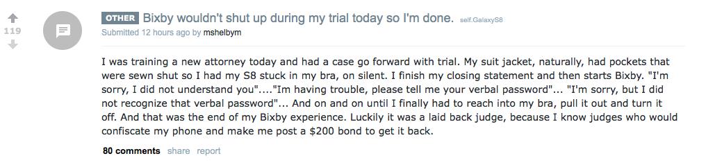 bixby Reddit