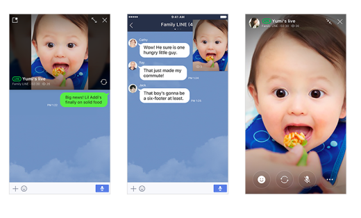 Messaging App 'Line' Adds Livestreaming Feature For Group Chats
