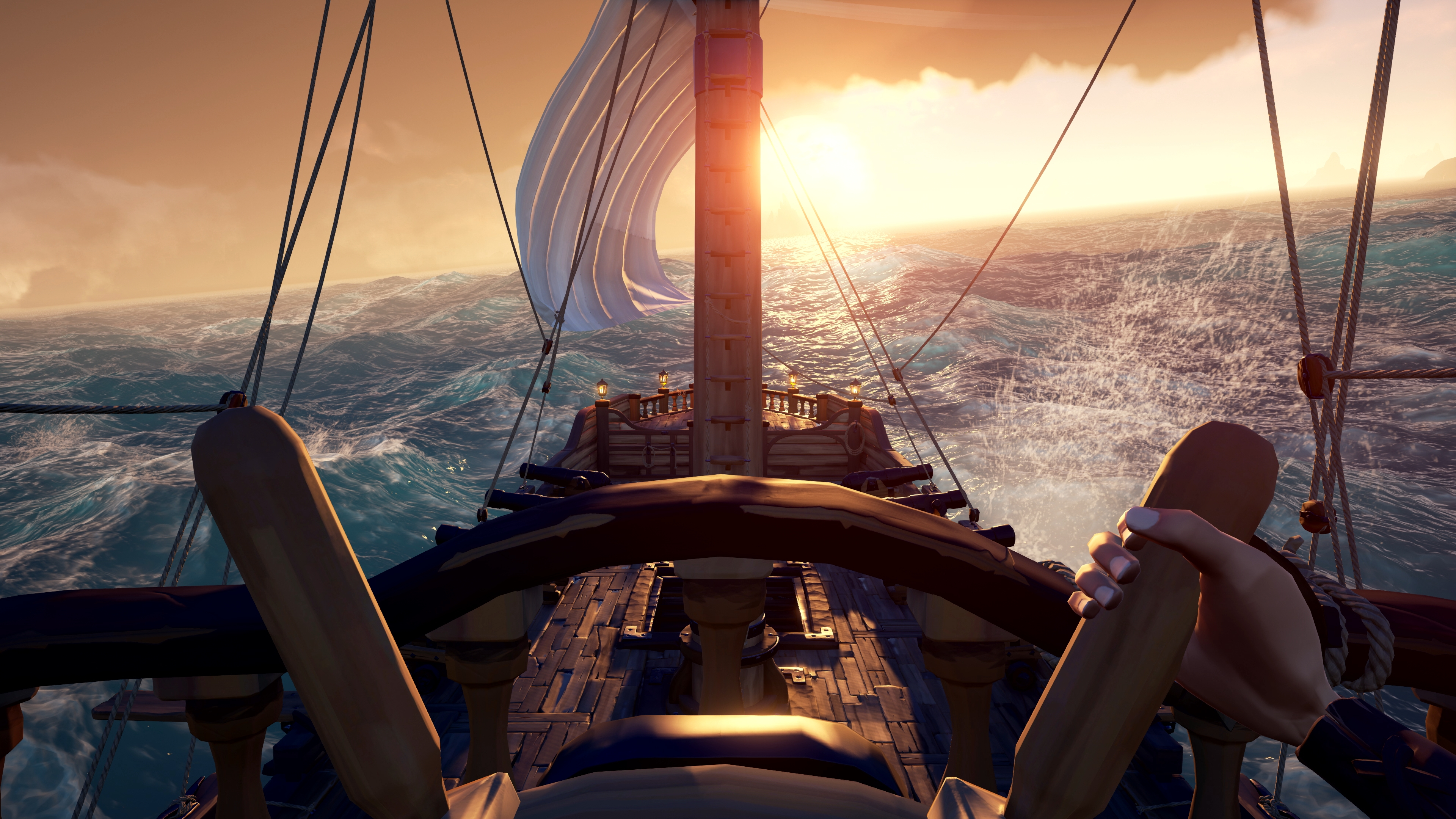 Rare Officially Confirms Sea Of Thieves Crossplay Shares New 4k