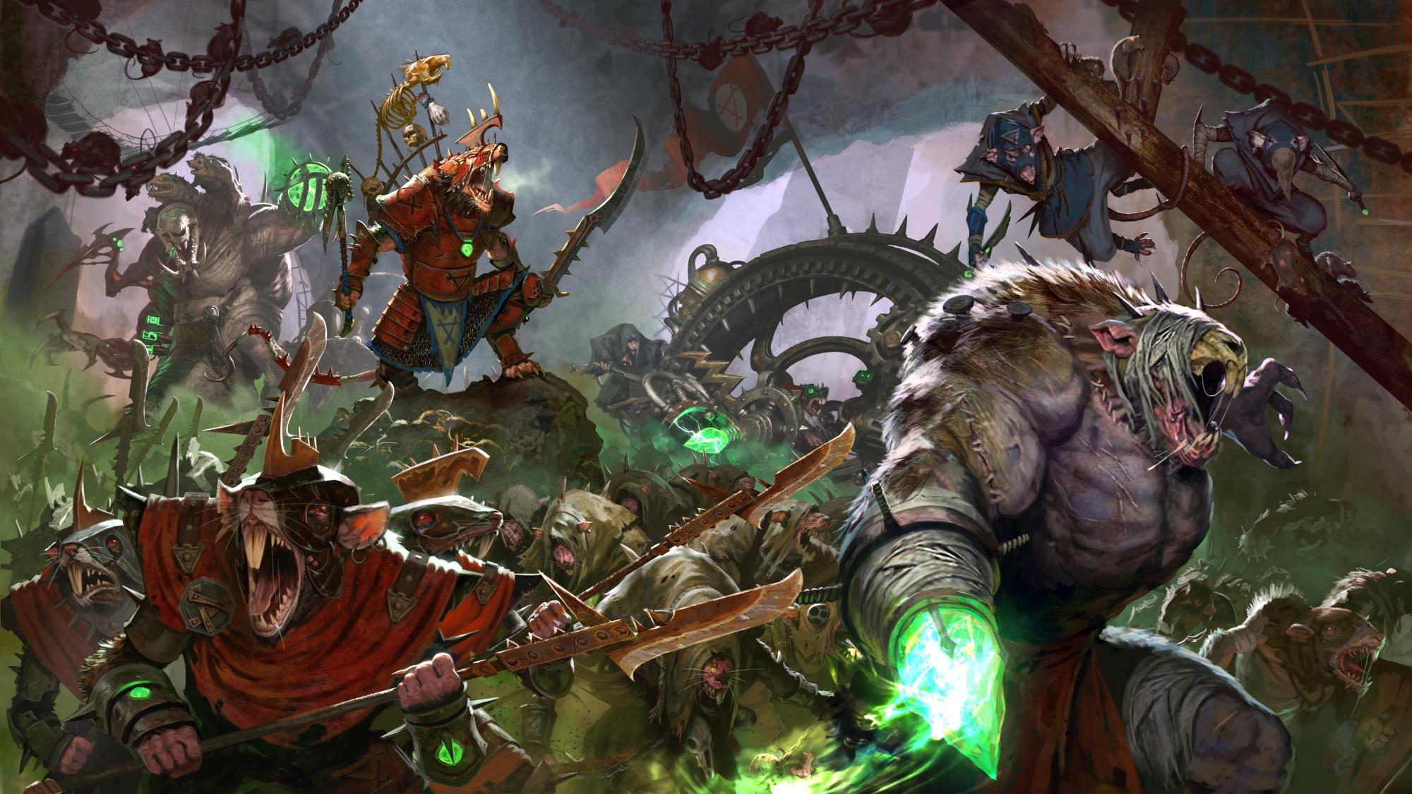 delving the deeps of total war warhammer ii introducing the skaven