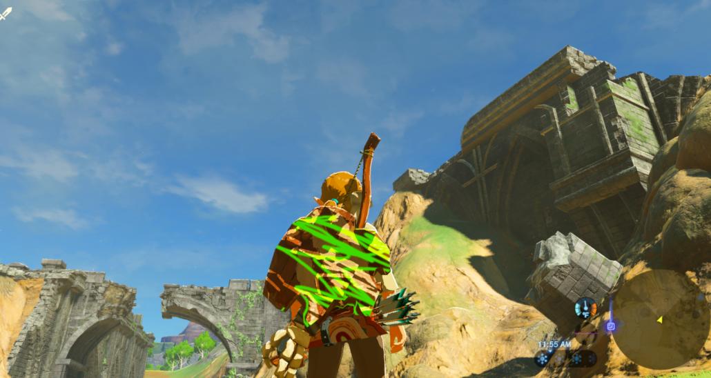 Zelda Breath Of The Wild Texture Modding Now Possible
