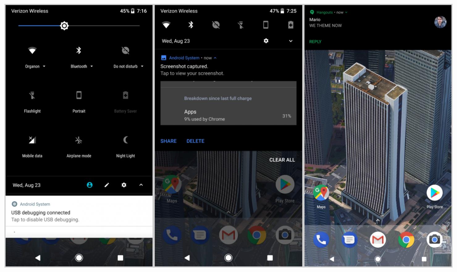 Substratum Android Oreo theme