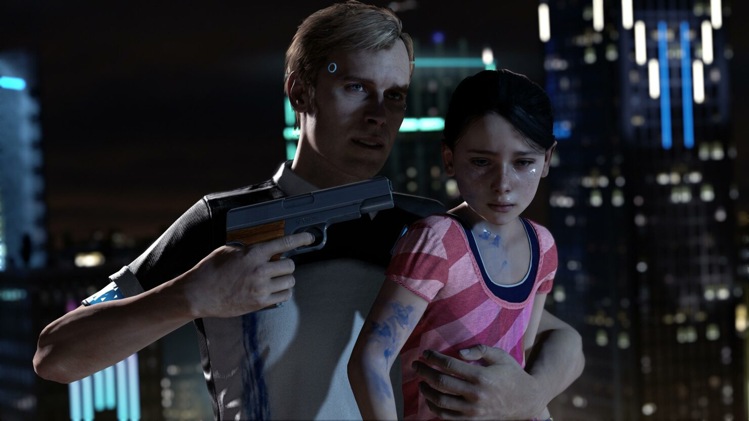 Detroit Become Human Abuse Children Violence Cage