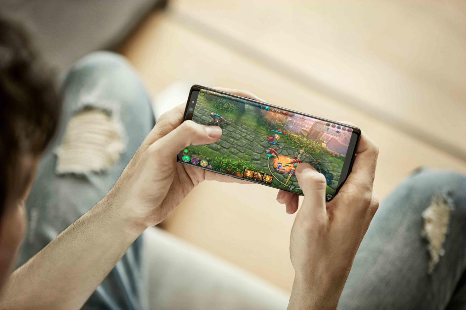 Galaxy Note 8 A Plus DisplayMate