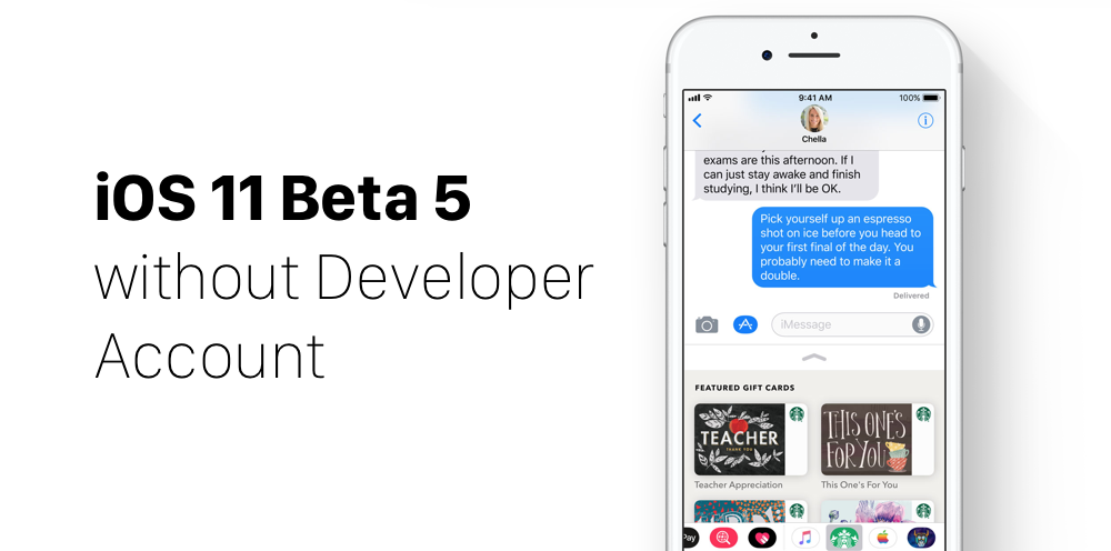 Download iOS 11 Beta 5 Without Developer Account on iPhone, iPad