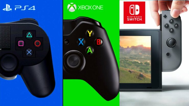 March NPD Switch PS4 Xbox One Sea of Thieves Far Cry 5