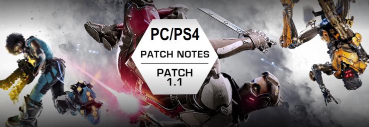 lawbreakers patch 1.1