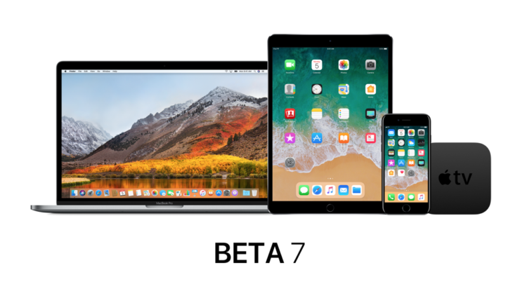 macOS high Sierra beta 7