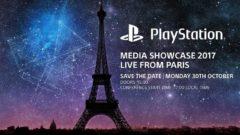 playstation media showcase paris 2017 Paris Games Week
