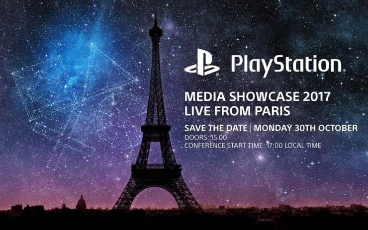 playstation media showcase paris 2017 Paris Games Week