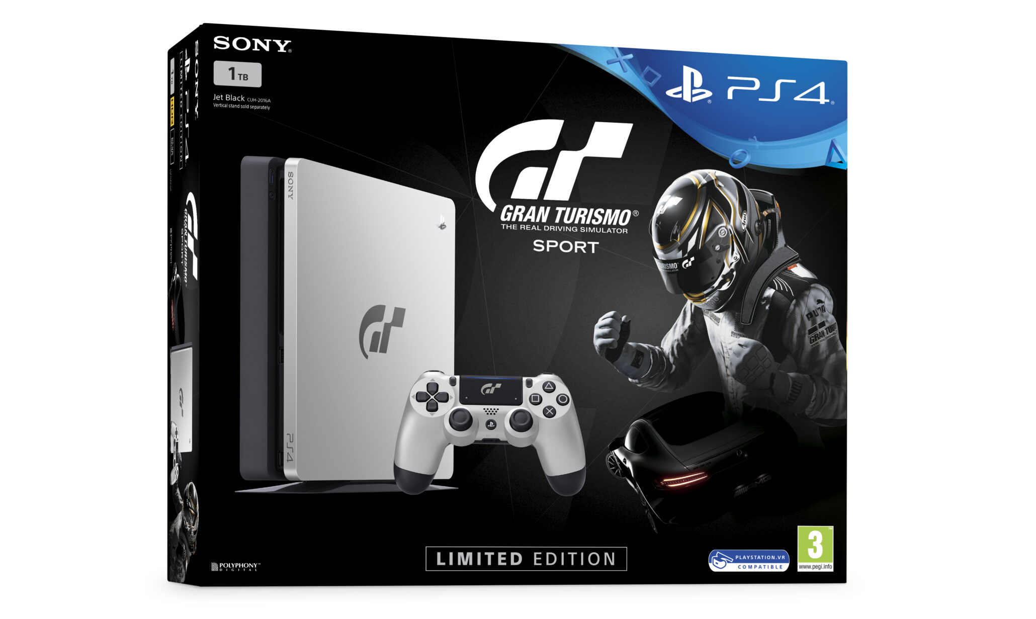 limited edition gran turismo sport playstation 4 slim 1tb announced for europe uk and australasia. Black Bedroom Furniture Sets. Home Design Ideas